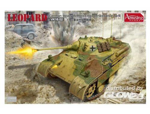 Amusing H. German reconnaissance tank VK16.02 1:35 (35A004)