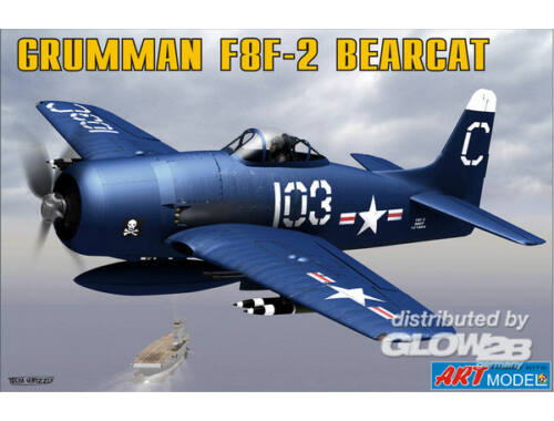 ART Model Grumman F8F-2 BEARCAT USAF carrier 1:72 (7201)