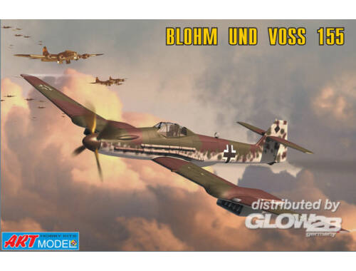 ART Model Blohm Voss 155V2 WWII Ger. interceptor 1:72 (7202)
