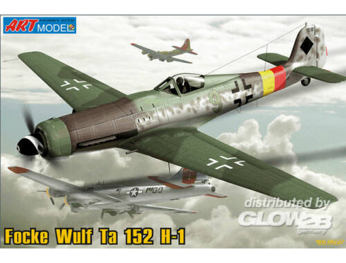ART Model TA 152 H-1 German interceptor 1:72 (7204)