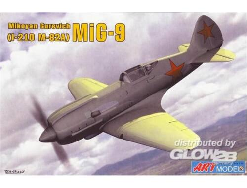 ART Model I-210(MiG-9) Soviet fighter 1:72 (7207)