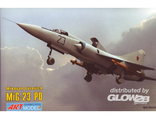 ART Model Mikoyan MiG-23PD first prototype 1:72 (7208)