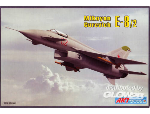 ART Model Mikoyan Ye-8 experimental fighter 1:72 (7209)