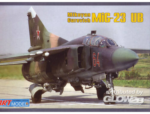 ART Model Mikoyan MiG-23UB training aircraft 1:72 (7210)