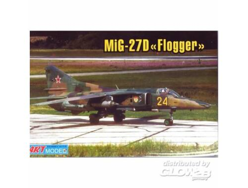 ART Model Mikoyan MiG-27M/D ground attack aircraft 1:72 (7216)