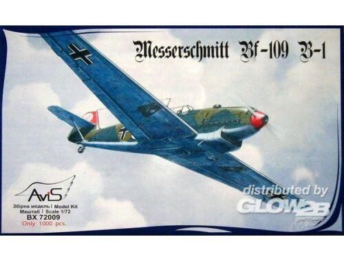 Avis Me Bf-109 B-1 WWII German fighter 1:72 (72009)