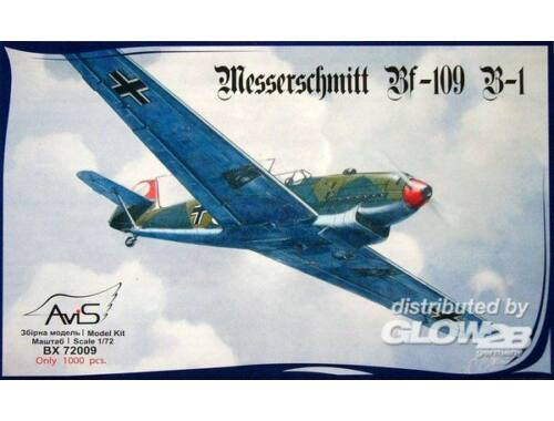 Avis Me Bf-109 B-1 WWII German fighter 1:72 (72009)