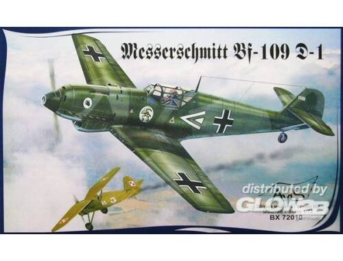 Avis Me Bf-109 D-1 WWII German fighter 1:72 (72010)