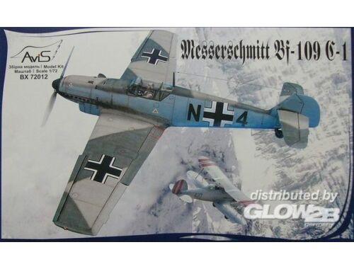 Avis Me Bf-109 C-1 WWII German fighter 1:72 (72012)