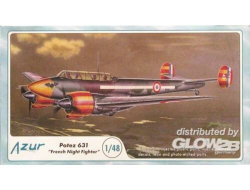 Azur Potez 631 ''French Night Fighter'' 1:48 (A058)