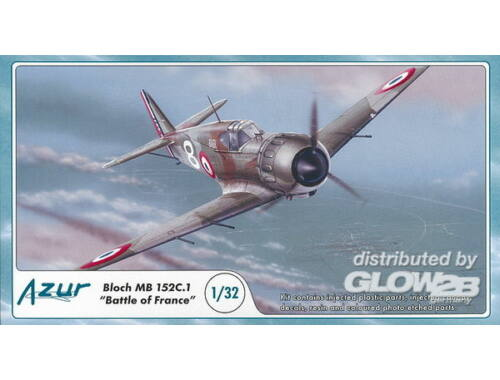Azur Bloch MB 152C.1 Battle of France 1:72 (A060)