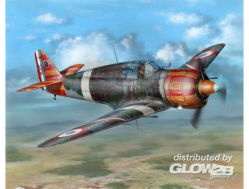 """Azur Bloch MB 152C.1 """"Red Yellow Stripes"""" 1:32 (A094)"""