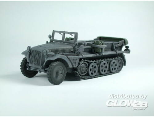 Caesar WWII German Sd. Kfz. 10 Halftrack 1:72 (7204)