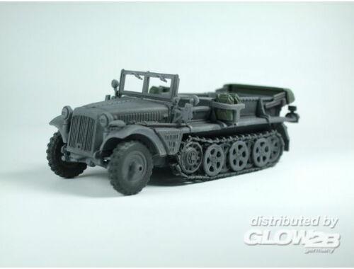 Caesar WWII German Sd. Kfz. 10 Halftrack 1:72 (7204)