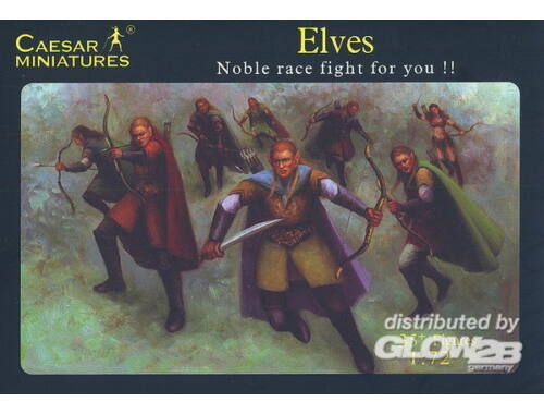 Caesar Elves Noble race fight for you!! 1:72 (F102)