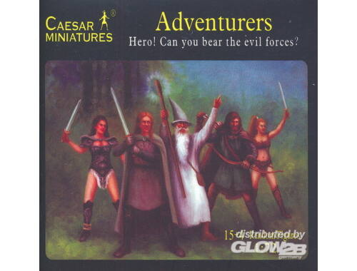 Caesar Adventurers Hero! Can you bear the evil forces? 1:72 (F104)