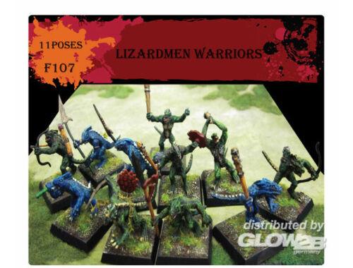 Caesar Lizardmen Warriors 1:72 (F107)