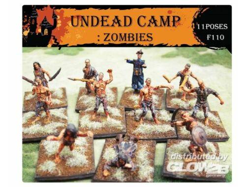 Caesar Undead Camp: Zombies 1:72 (F110)