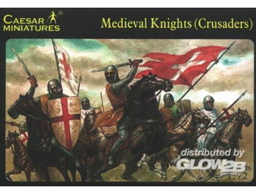 Caesar Medieval Knight (Crusader) 1:72 (H017)