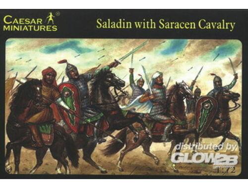 Caesar Saladin with Saracen Cavalry 1:72 (H018)