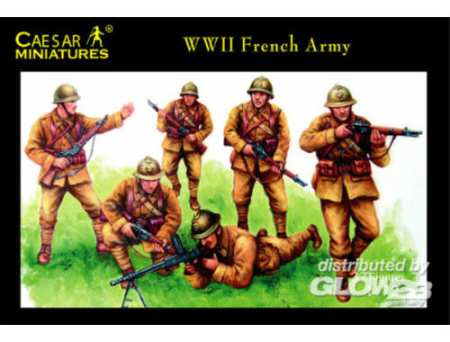 Caesar WWII French Army 1:72 (H038)