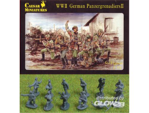 Caesar WWII German Panzergrenadiers 1:72 (H053)