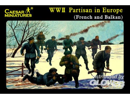 Caesar Europäische Partisanen (Frankreich und Balkan) 1:72 (H056)