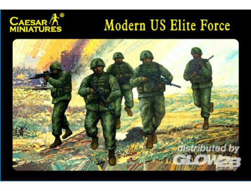 Caesar Modern US Elite Force 1:72 (H058)