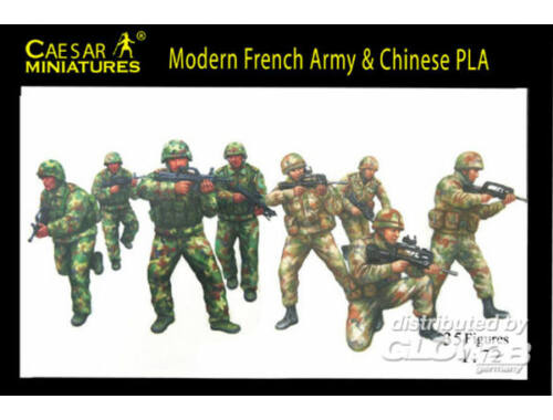 Caesar Modern French Army with Chinese PLA 1:72 (H059)