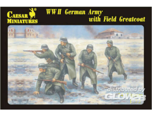 Caesar WWII German Army with Field Greatcoat 1:72 (H069)