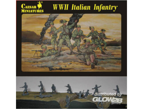 Caesar WWII Italian Infantry 1:72 (H072)