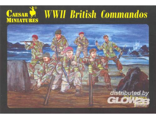 Caesar WWII British Commandos 1:72 (H073)