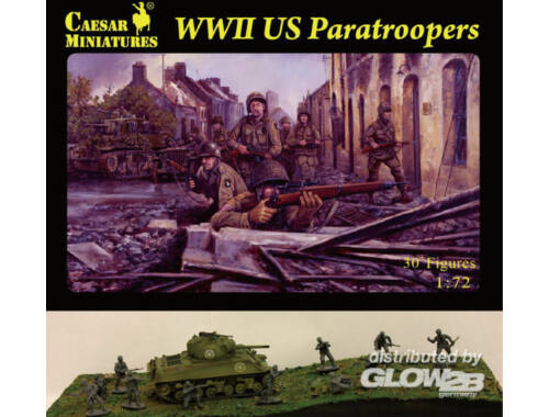 Caesar WWII US Paratroopers 1:72 (H076)
