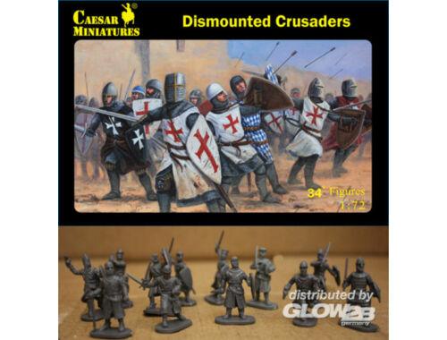 Caesar Dismounted Crusaders 1:72 (H086)