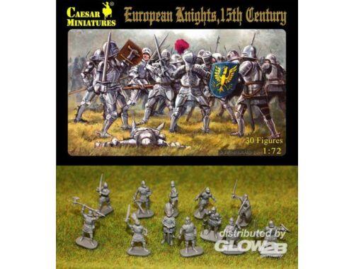 Caesar European Knights, 15th century 1:72 (H091)