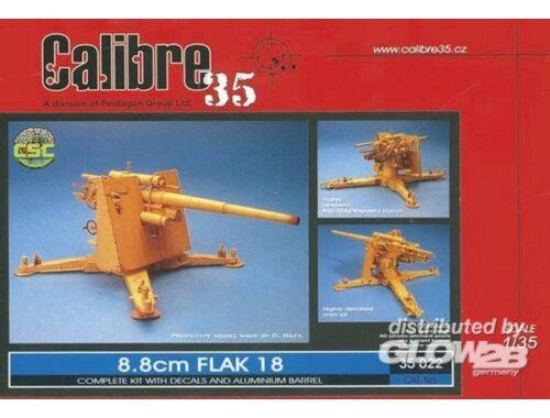 Calibre 8,8cm Flak 18 1:35 (35022)