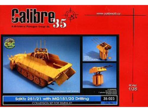 Calibre SdKfz 251/21 with MG 151/20 Drilling 1:35 (35023)