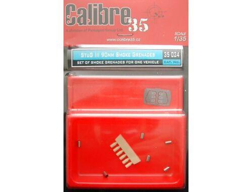Calibre StuG.III Rauchgranaten, smoke grenades 1:35 (35024)