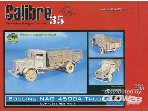 Calibre Büssing NAG 4500A Truck 1:35 (35028)