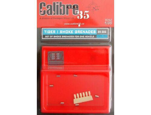 Calibre Tiger I 90mm Rauch Granaten 1:35 (35032)