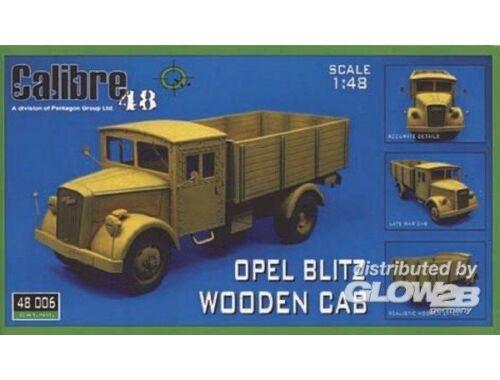 Calibre Opel Blitz Holzdach 1:48 (48006)