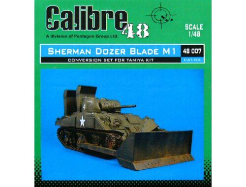 Calibre M4 Sherman Dozer Blade M1 für Tamiya Bausatz 1:48 (48007)