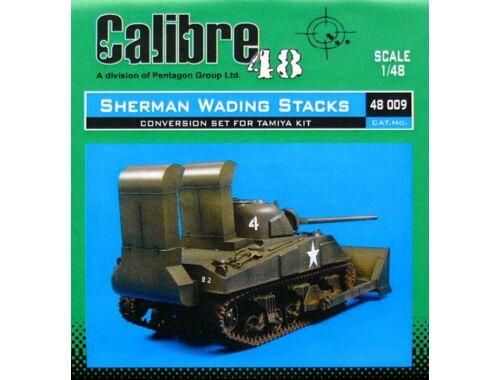 Calibre M4 Sherman Wading Stacks für Tamiya Bausatz 1:48 (48009)