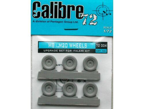 Calibre M8/M20 Räder 1:72 (72004)