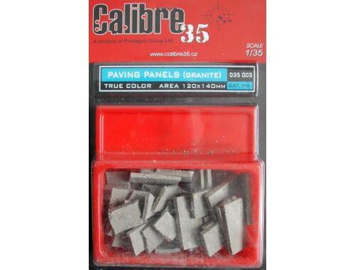 Calibre Paving Panels (Granite) 1:35 (D35003)