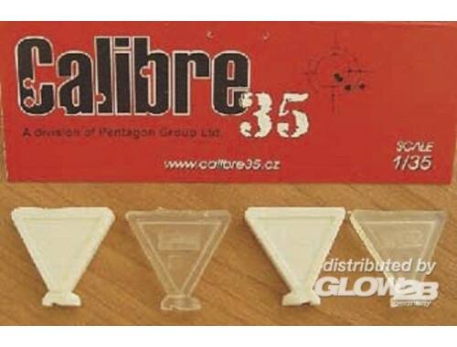 Calibre Footprints French WW II Boots 1:35 (FP008)