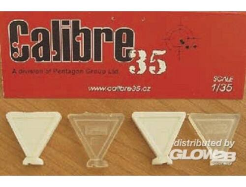 Calibre Footprints French WW II Boots 1:35 (FP009)