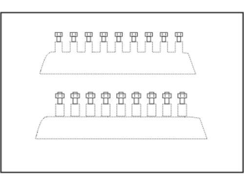 CMK Hexagonal bolt head 0,8 mm (44 pcs) (015)