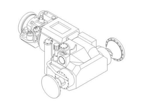 CMK Honeywell AGT 1500C-US turbine multi-fuel pow 1:72 (2043)