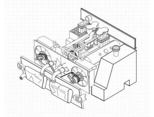 CMK PzKpfw III - engine set for TAM (Maybach ML 1 1:35 (3021)